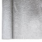 Crepe Paper Roll 20in Metallic Silver