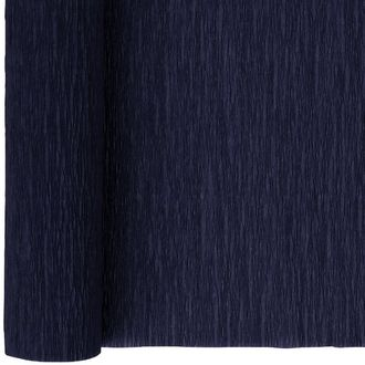 Crepe Paper Roll 20in Midnight Navy 90g