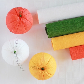 Crepe Paper Roll 20in Olive 70g