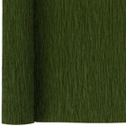 Crepe Paper Roll 20in Olive 90g