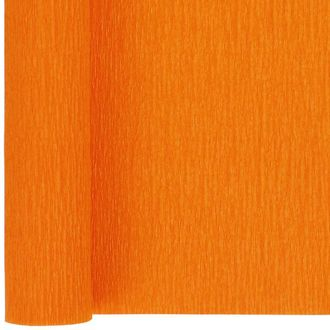 Crepe Paper Roll 20in Orangesicle 90g