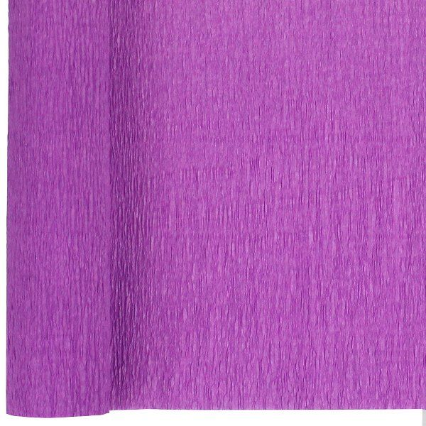 Crepe Paper Roll 20in Orchid 90g