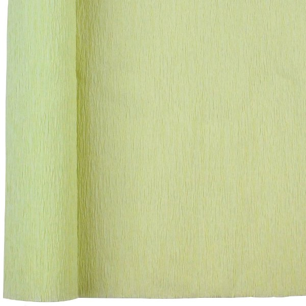 Crepe Paper Roll 20in Pear Green 90g