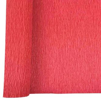 Crepe Paper Roll 20in Red 90g