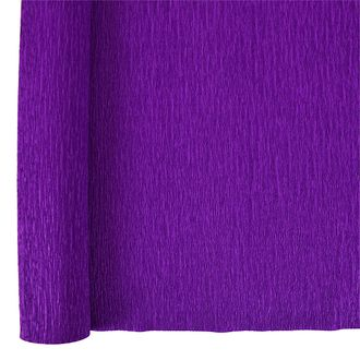 Crepe Paper Roll 20in Royal Purple 90g