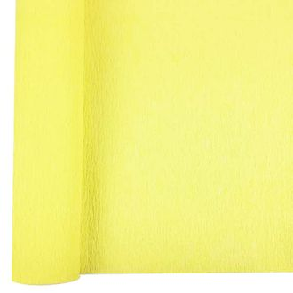 Crepe Paper Roll 20in Sunshine Yellow 90g