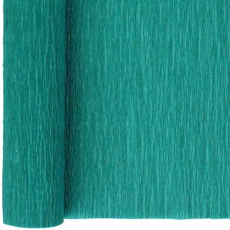 Crepe Paper Roll 20in Teal