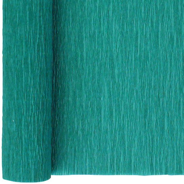 Crepe Paper Roll 20in Teal 90g