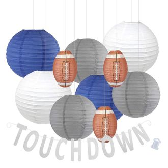 Decorative 20pcs Game Day Football Paper Lanterns (Indianapolis) - Premier