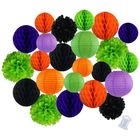 Decorative 24pcs Halloween Party Kit Assorted Sizes & Colors - Premier