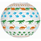 Dinosaur White Dino  and Footprints 12inch Paper Lantern