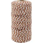 ECO Bakers Twine 110yd 12Ply Striped Adobe