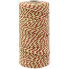 ECO Bakers Twine 110yd 12Ply Striped Cherry Green Apple Twist