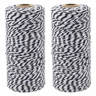 ECO Bakers Twine 110yd 12Ply Striped Midnight Navy (2-Pack) - Premier