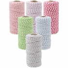 Eco Bakers Twine 110yd 12ply Striped Pastel Assorted (6pcs) - Premier