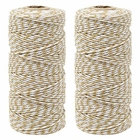 ECO Bakers Twine 110yd 12Ply Striped Wheat (2-Pack) - Premier