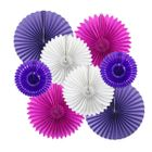 Fairytale Pinwheel and Tissue Fan Decorating Kit 8pcs
