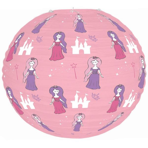 Fairytale Princess Light Pink Once Upon a Time 12inch Paper Lantern