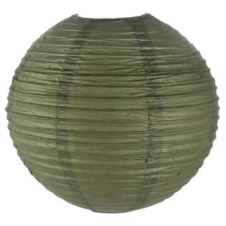 Final Clearance 10inch Paper Lantern Army Green