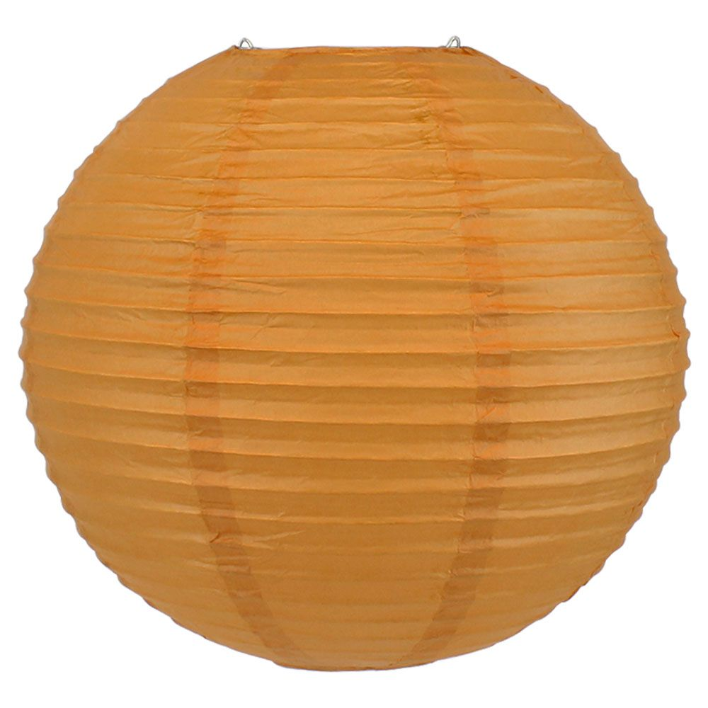 Final Clearance 10inch Paper Lantern Butterscotch