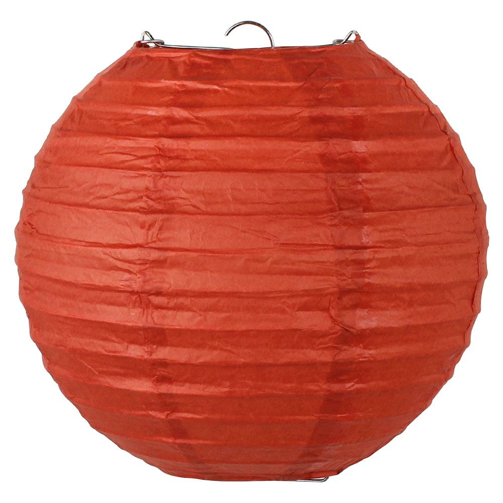 Final Clearance 10inch Paper Lantern Cayenne