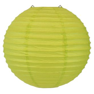 Final Clearance 10inch Paper Lantern Chartreuse