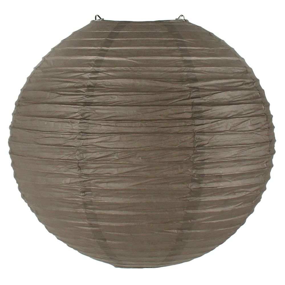 Final Clearance 10inch Paper Lantern Driftwood