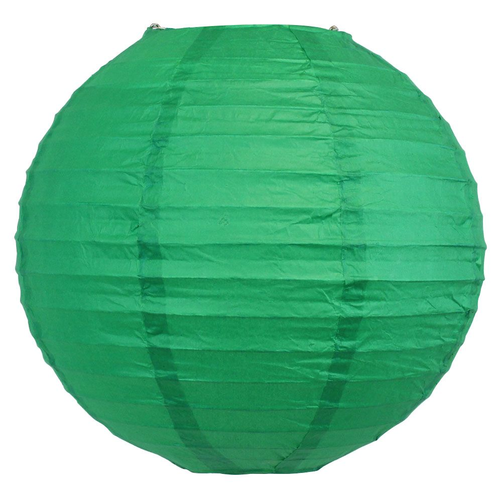Final Clearance 10inch Paper Lantern Emerald