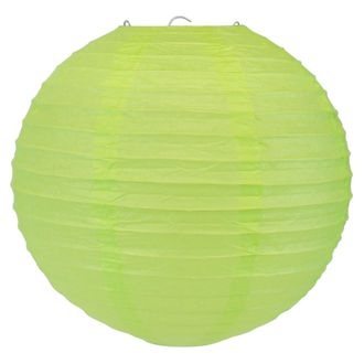Final Clearance 10inch Paper Lantern Light Green