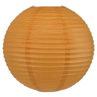 Final Clearance 12inch Paper Lantern Butterscotch