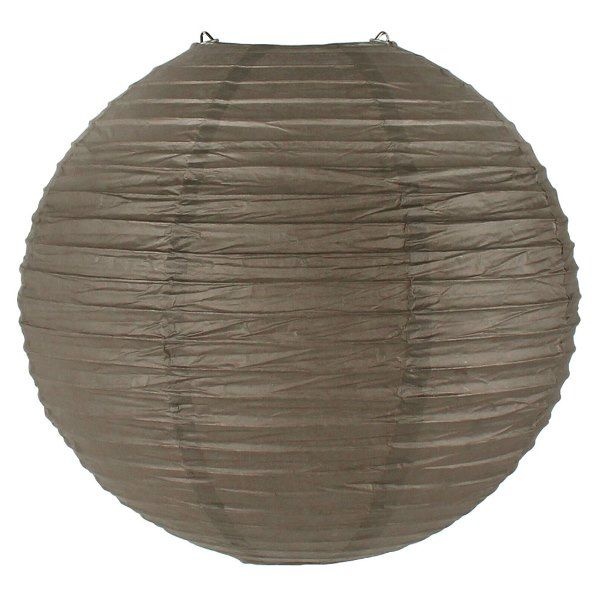 Final Clearance 12inch Paper Lantern Driftwood