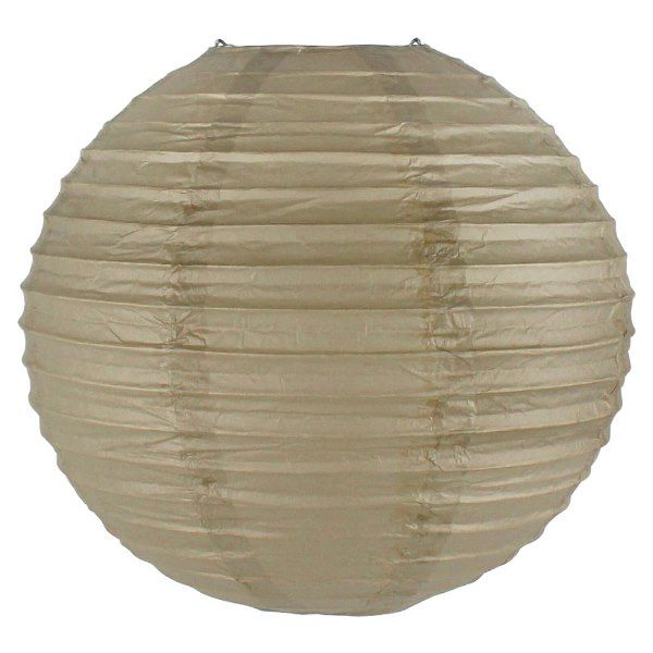 Final Clearance 12inch Paper Lantern Stone