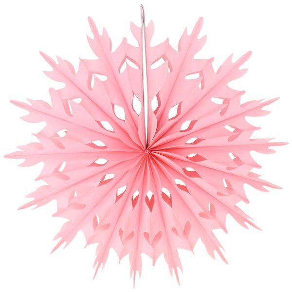 FINAL CLEARANCE 14in Snowflake Pink