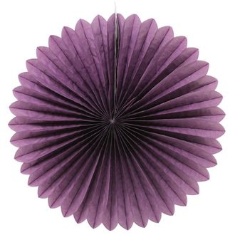 FINAL CLEARANCE 14inch Paper Daisy Purple