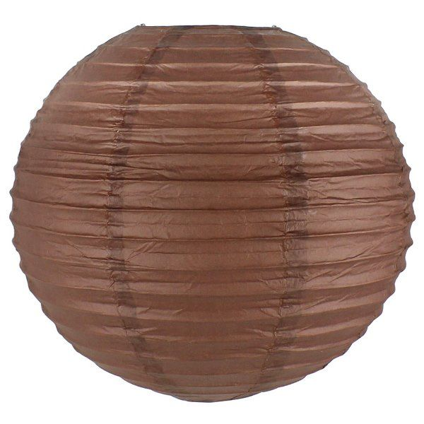 Final Clearance 14inch Paper Lantern Chocolate