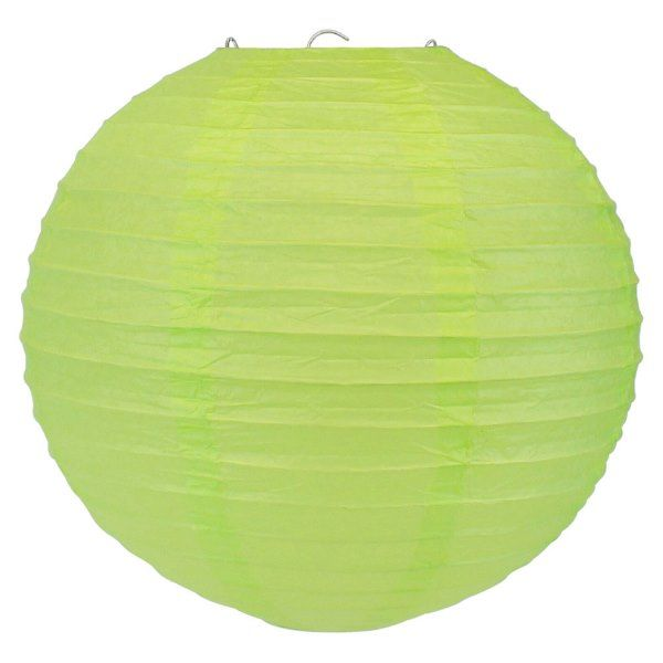 Final Clearance 14inch Paper Lantern Light Green