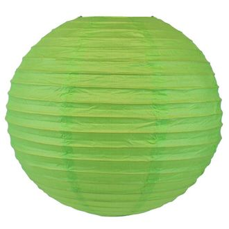 Final Clearance 16in Paper Lantern Grass Green