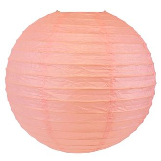 Final Clearance 16in Paper Lantern Rose Quartz