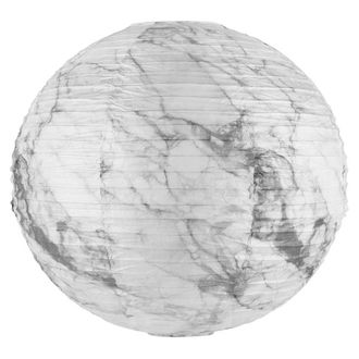 FINAL CLEARANCE 18in Marble Paper Lantern