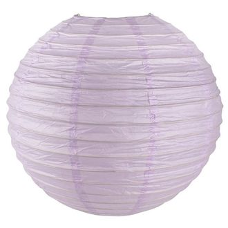 Final Clearance 18in Paper Lantern Lilac