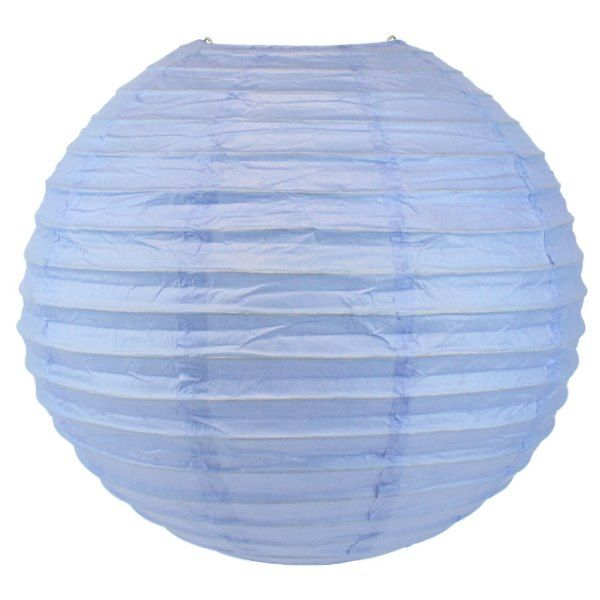 Final Clearance 18in Paper Lantern Periwinkle