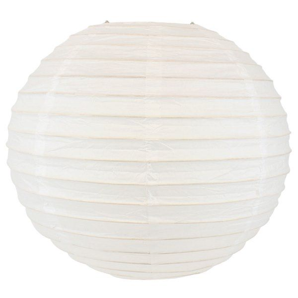 Final Clearance 18in Paper Lantern White