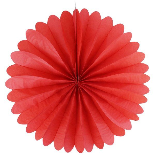 FINAL CLEARANCE 19inch Paper Daisy Red