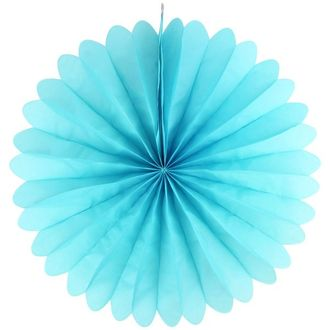 FINAL CLEARANCE 19inch Paper Daisy Turquoise