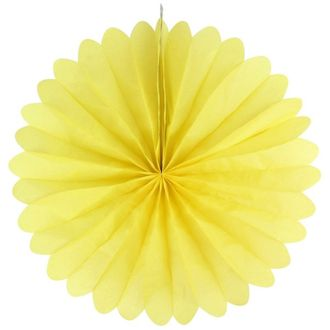 FINAL CLEARANCE 19inch Paper Daisy Yellow