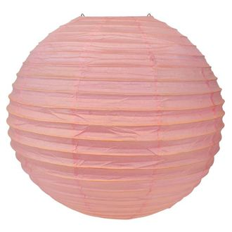 Final Clearance 20in Paper Lantern Bambino Pink