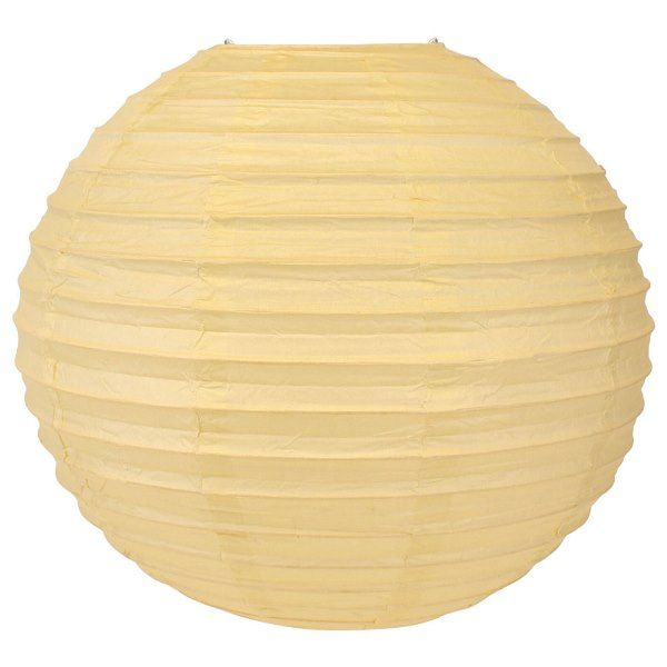 Final Clearance 20in Paper Lantern Ivory