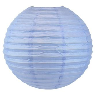 Final Clearance 20in Paper Lantern Periwinkle