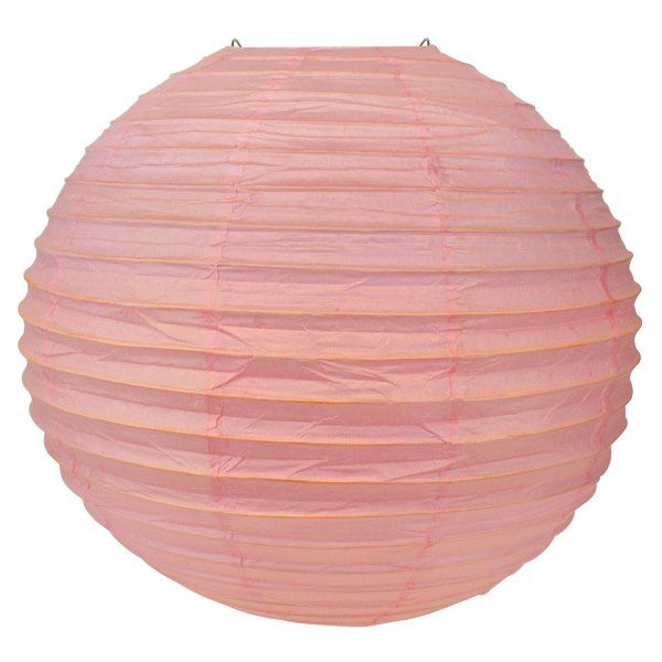 Final Clearance 24in Paper Lantern Bambino Pink
