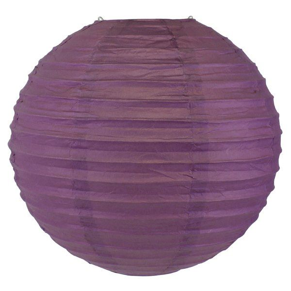Final Clearance 24in Paper Lantern Bellflower